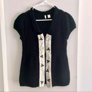 Anthropologie Moth Sweater Top Size Small